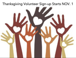 Thanksgiving signup