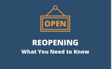 L.I.N.K.'s Reopening Plans Starting Thursday, September 2